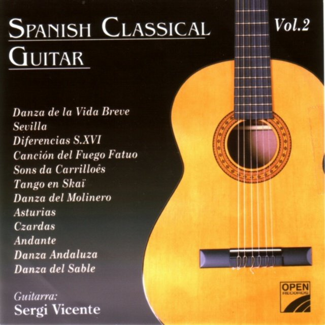 Spanish Classical Guitar (Vol. II)