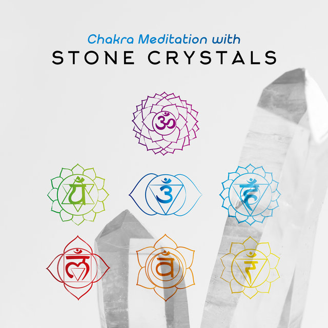 Chakra Meditation with Stone Crystals: Healing Meditation Session, Yoga exercises, Zen Practice, Chakra Balancing