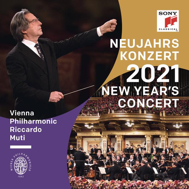 Cover art for album Neujahrskonzert 2021 / New Year's Concert 2021 / Concert du Nouvel An 2021 by Riccardo Muti, Wiener Philharmoniker