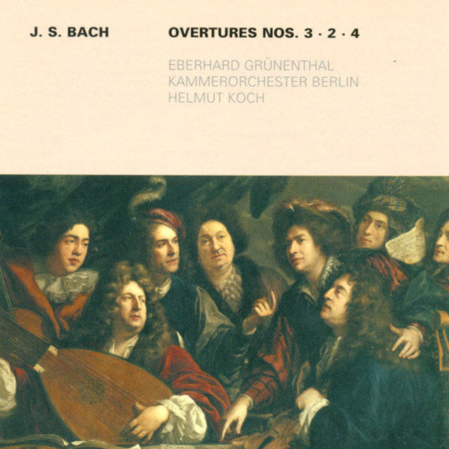 Bach: Overtures (Suites) Nos. 2-4