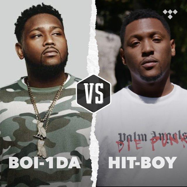 Cover art for album Boi-1da vs. Hit-Boy by TIDAL