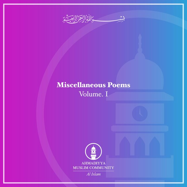 Misc. Poems Vol. I
