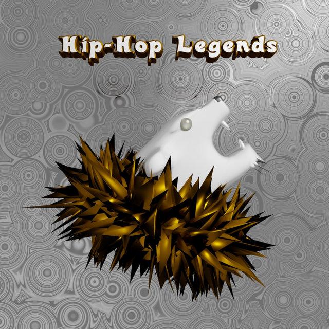 Cover art for album Hip-Hop Legends by Various Artists