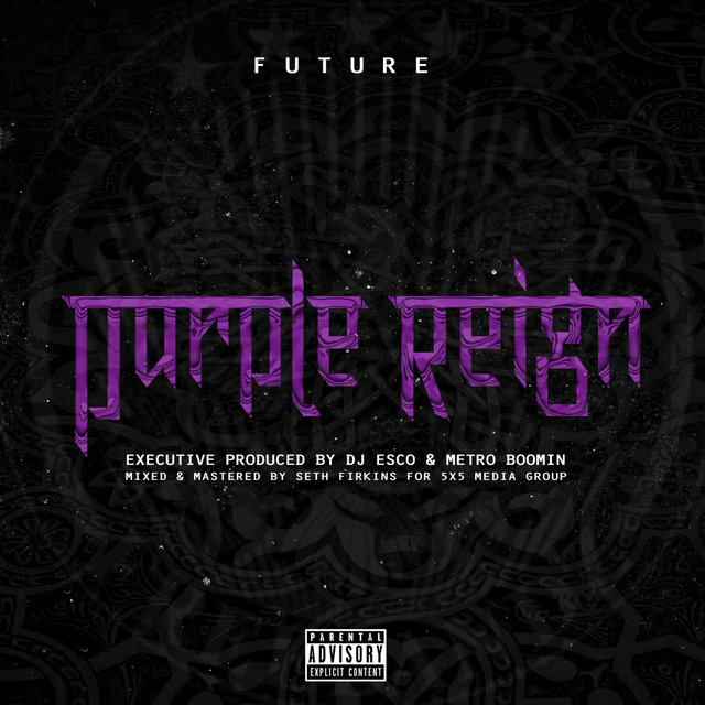 Cover art for album Purple Reign by Future