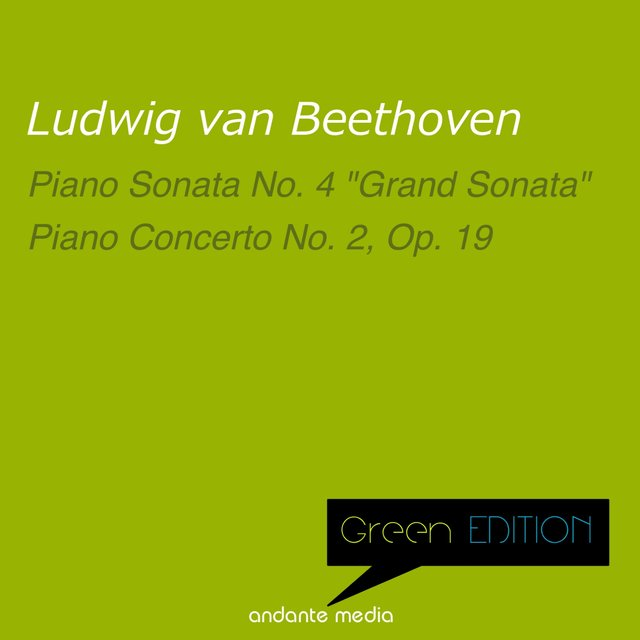 Green Edition - Beethoven: Piano Sonata No. 4