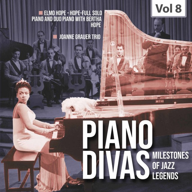 Milestones of Jazz Legends: Piano Divas, Vol. 8
