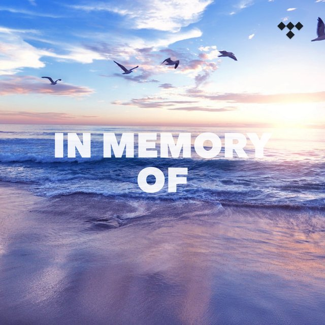 Cover art for album In Memory Of by TIDAL
