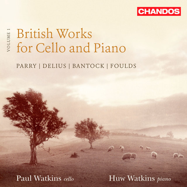 British Works For Cello & Piano, Vol. 1