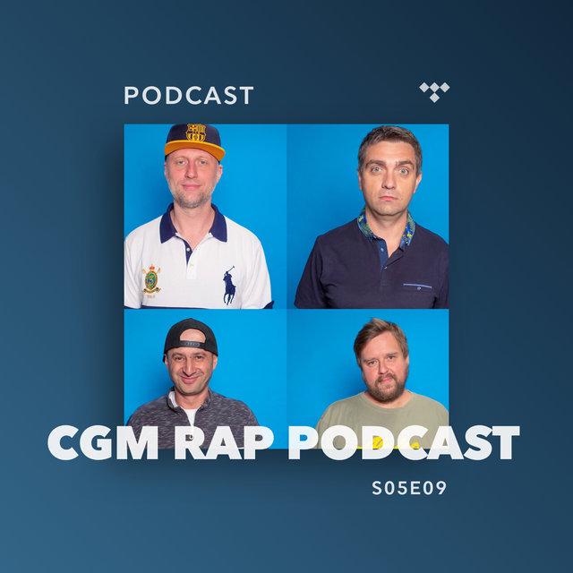Cover art for album  by CGM Rap Podcast, Wujek Samo Zło, Marcin Flint, Proceente, Numer Raz