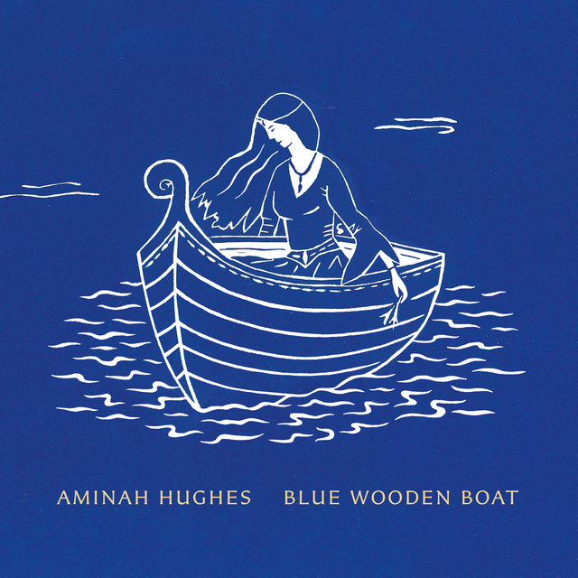 Blue Wooden Boat
