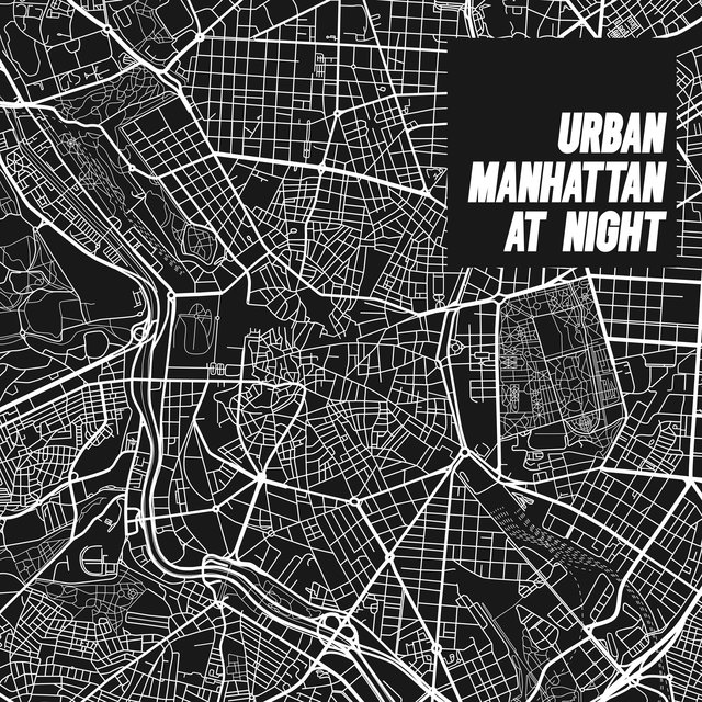 Urban Manhattan at Night – Evening Relaxation, Relaxing BGM Jazz Tones for Restaurants, Clubs, Bars and Cafes