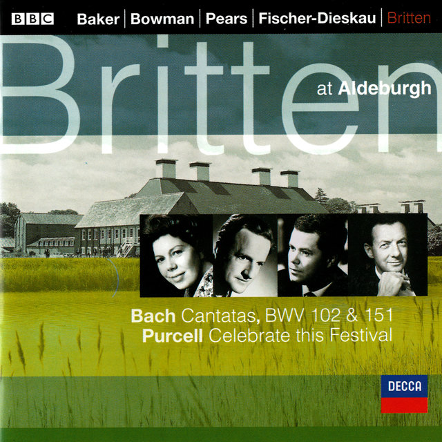Bach, J.S.: Cantatas Nos. 102 & 151 / Purcell: Celebrate this Festival