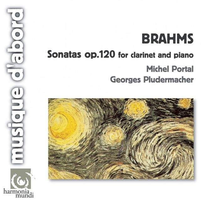Brahms: Sonatas for Clarinet and Piano, Op.120