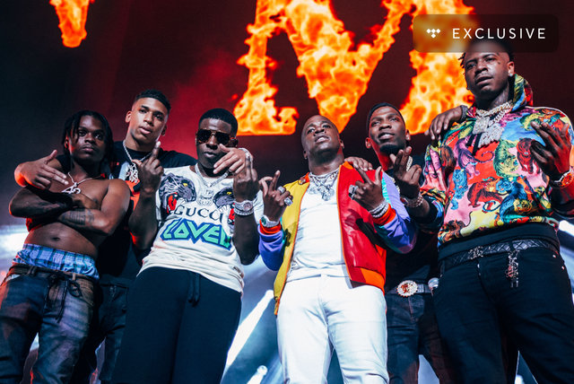 CMG Artists Set (Blac Youngsta-Moneybagg Yo-BlocBoy JB-NLE Choppa) (Live at TIDAL X Yo Gotti - Birthday Bash 7)