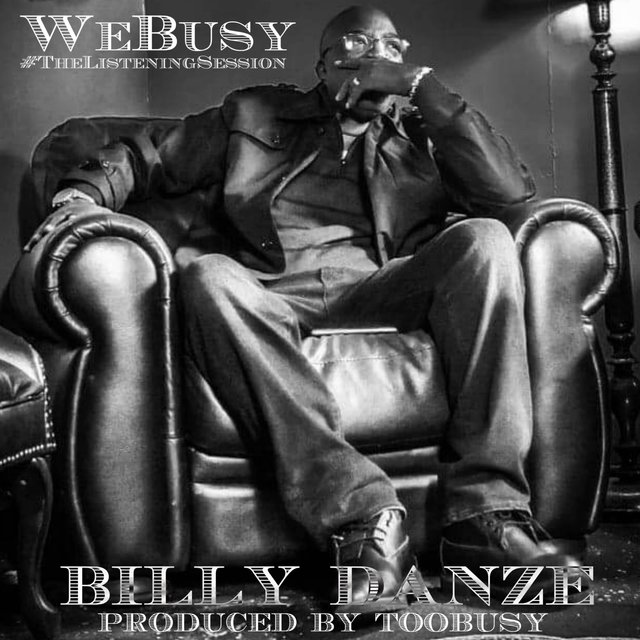Cover art for album The Listening Session by Billy Danze, TooBusy