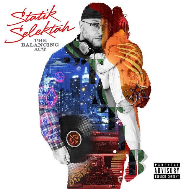 Cover art for album The Balancing Act by Statik Selektah
