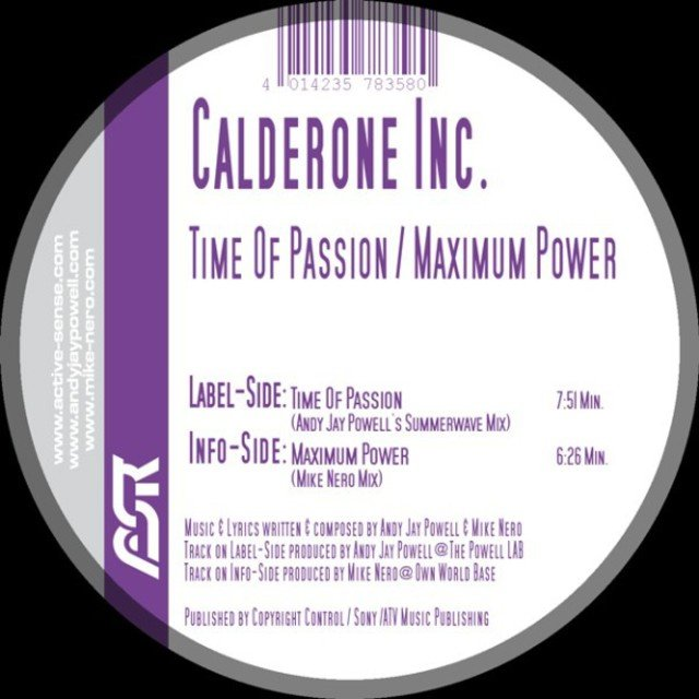 Maximum Power / Time of Passion