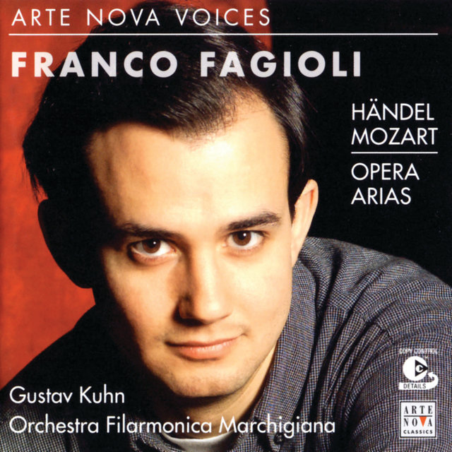 Arte Nova Voices - Franco Fagioli / Portrait