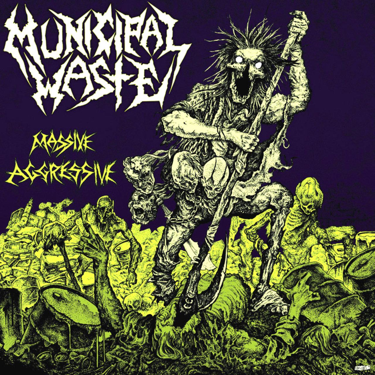 Municipal waste live review london, underworld
