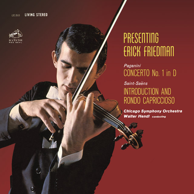 Paganini: Violin Concerto No. 1 in D Major, Op. 6 - Saint-Saëns: Introduction et Rondo capriccioso in A Minor, Op. 28
