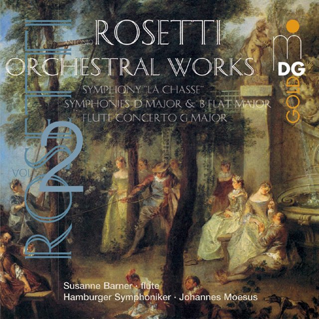 Rosetti: Orchestral Works, Vol. 2