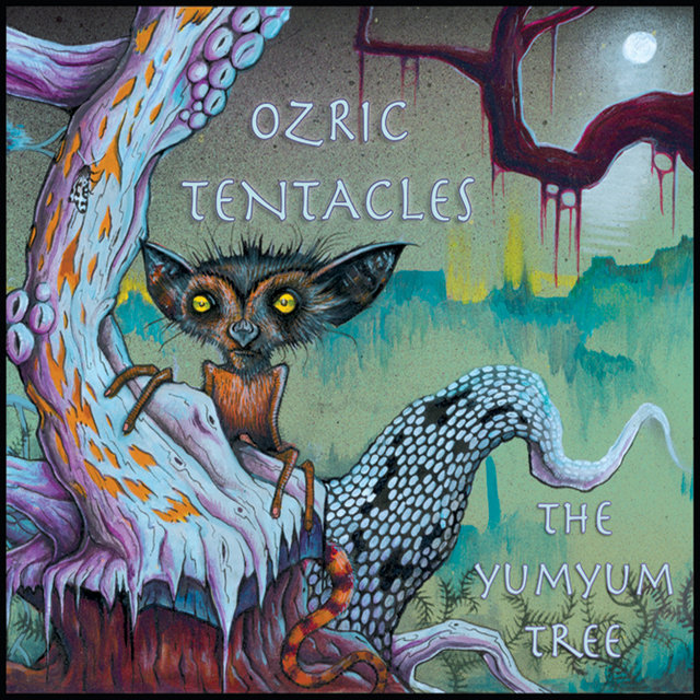 Cover art for album The Yumyum Tree by Ozric Tentacles