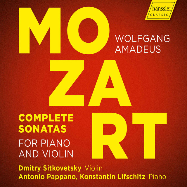 Mozart: Complete Sonatas for Piano & Violin
