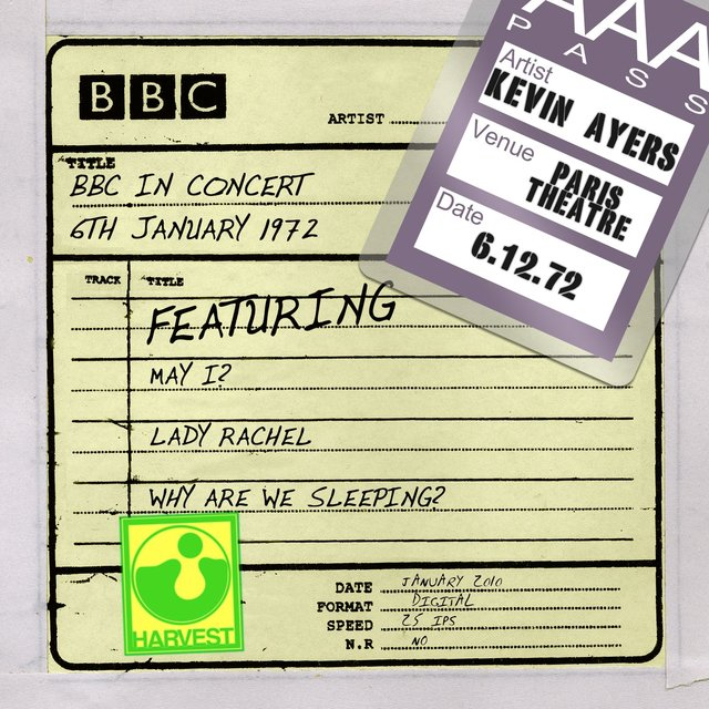 BBC In Concert [Paris Theatre, 6th January 1972]