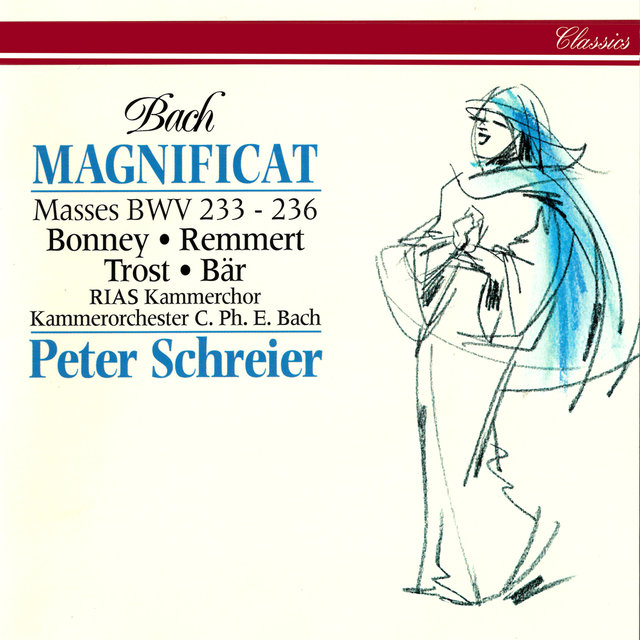 Bach, J.S.: Magnificat in D Major; Mass in A Major; Mass in F Major; Mass in G Minor; Mass in G Major