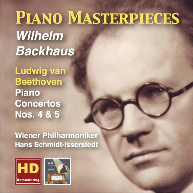 Piano Masterpieces: Wilhelm Backhaus Plays Beethoven (Remastered 2015)