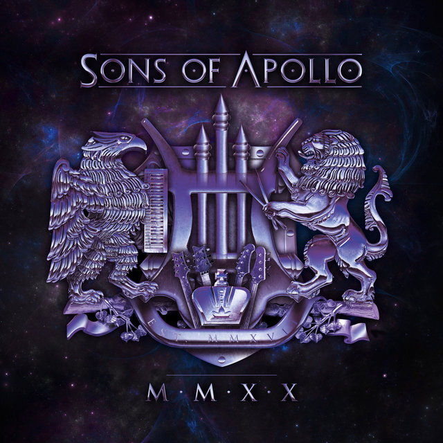 Cover art for album MMXX by Sons Of Apollo