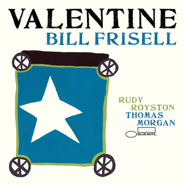 Cover art for album Valentine by Bill Frisell