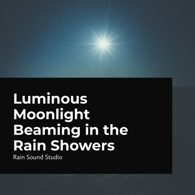 Luminous Moonlight Beaming in the Rain Showers