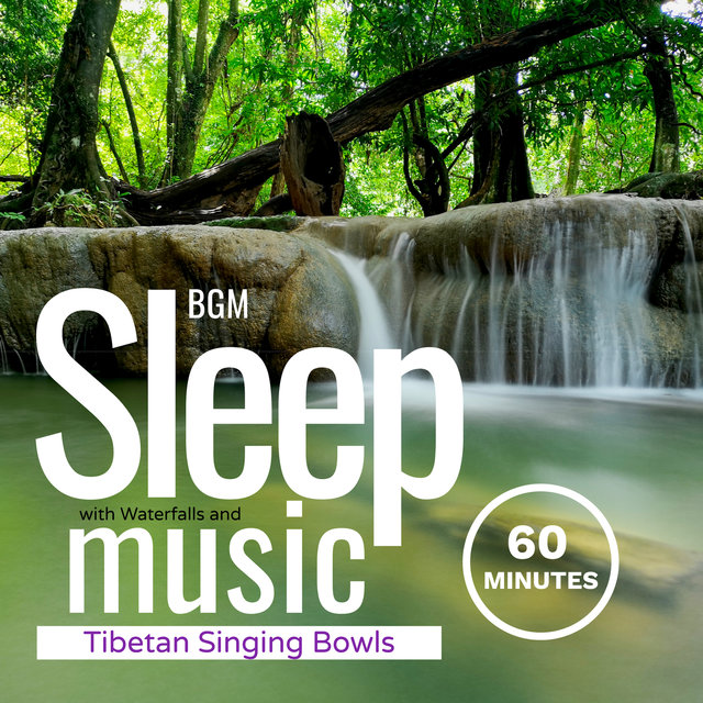 Sleep Music with Waterfalls and Tibetan Singing Bowls