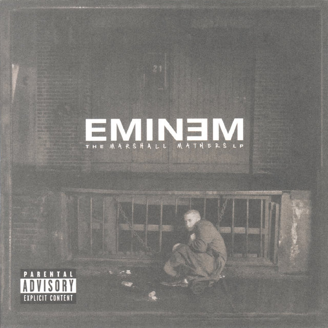 Cover art for album  by Eminem
