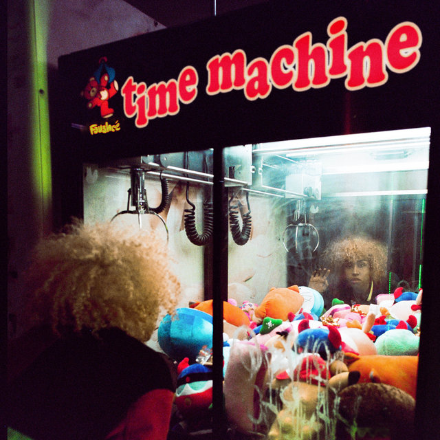Cover art for album time machine by Fousheé