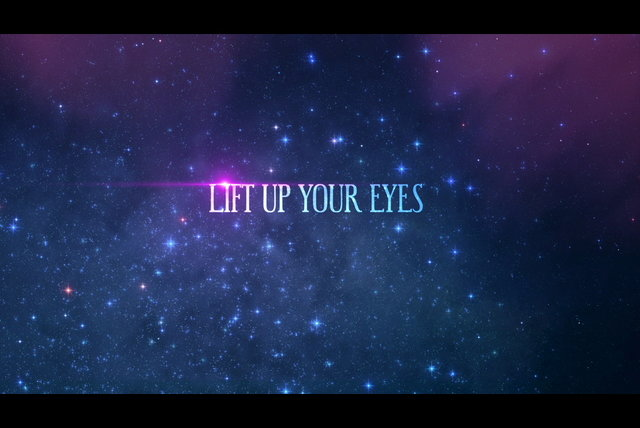 Lift Up Your Eyes (Lyric Video)