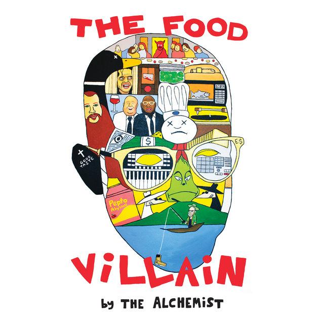 Cover art for album The Food Villain by The Alchemist