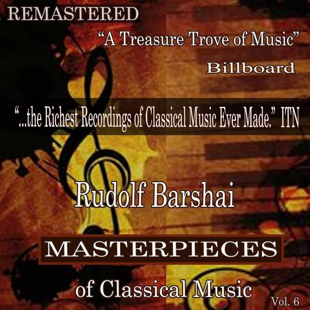 Rudolf Barshai - Masterpieces of Classical Music Remastered, Vol. 6