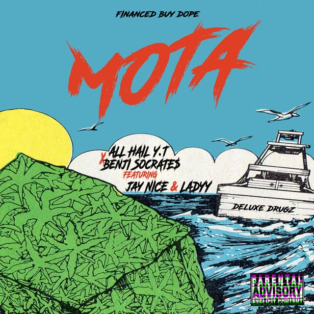 Cover art for album Mota (feat. Jay Nice & Ladyy) by All Hail Y.T., Benji Socrate$