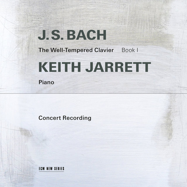 Cover art for album J.S. Bach: The Well-Tempered Clavier, Book I (Live in Troy, NY / 1987) by Keith Jarrett