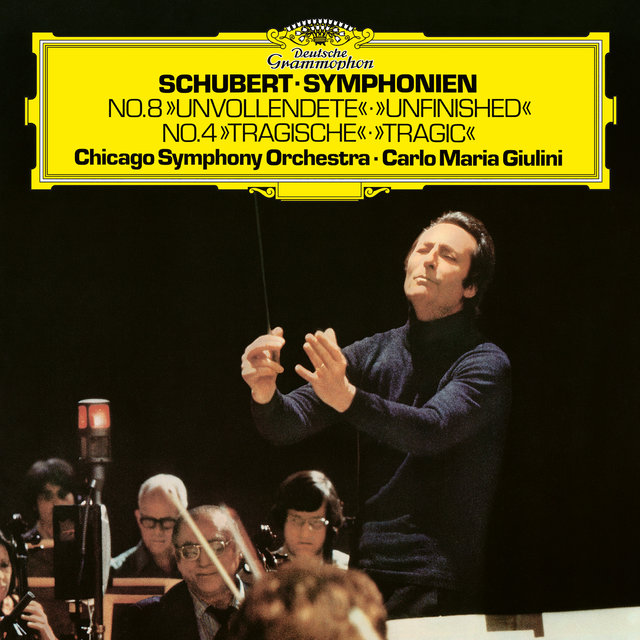 Schubert: Symphony No.4 in C minor, D.417 / Symphony No.8 in B minor, D.759
