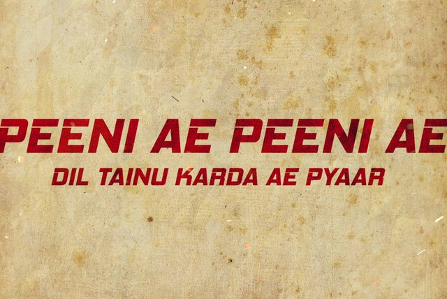 Peeni Ae Peeni Ae (Lyric Video)