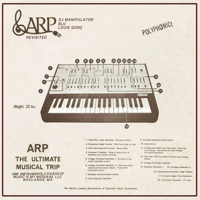 ARP Revisited (feat. Blu & Louie Gonz)
