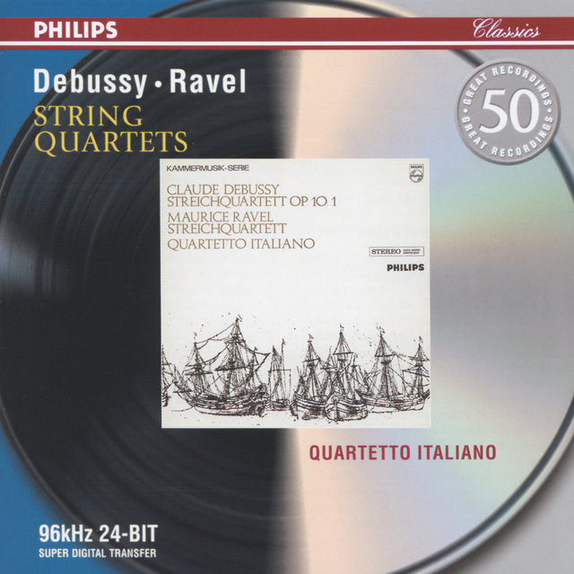 Debussy: String Quartet in G minor / Ravel: String Quartet in F