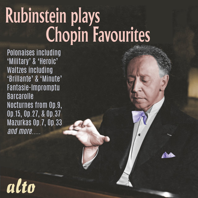 Rubinstein Plays Chopin Favourites
