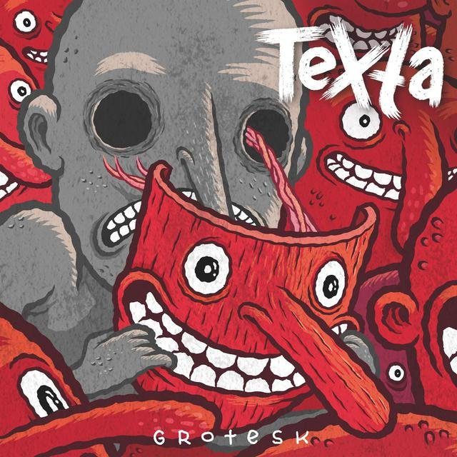 Cover art for album grotesk by Texta