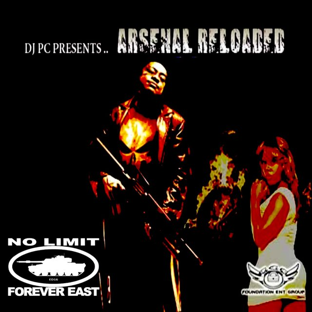 Cover art for album DJ PC Presents: Arsenal Reloaded by Various Artists