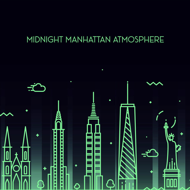 Midnight Manhattan Atmosphere – Classic Urban Jazz Music