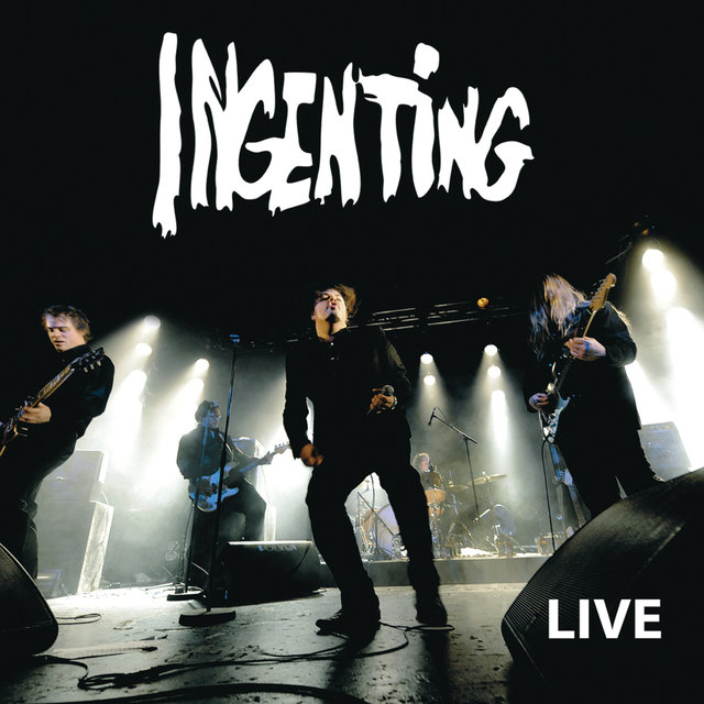 Ingenting live - (Deluxe Edition)